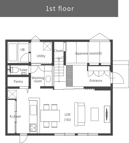 間取り1階